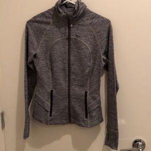 Lululemon heathered zip up jacket